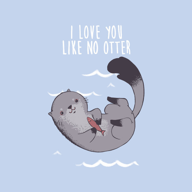 Like no Otter-none stretched canvas-ursulalopez