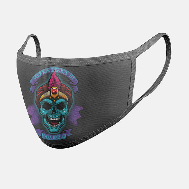 Long Live Jambi-unisex basic face mask-Bamboota