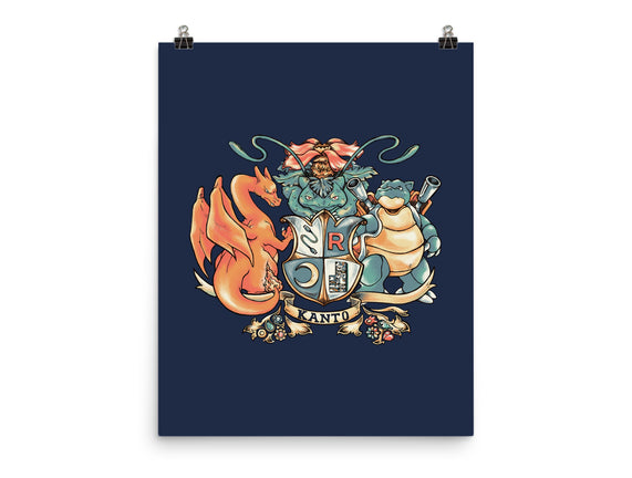 Kanto Coat of Arms