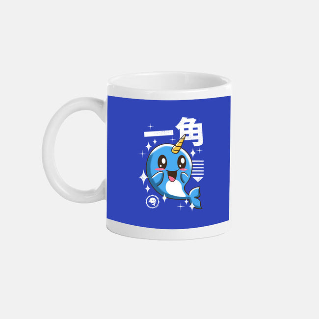 Kawaii Narwhal-none glossy mug-vp021