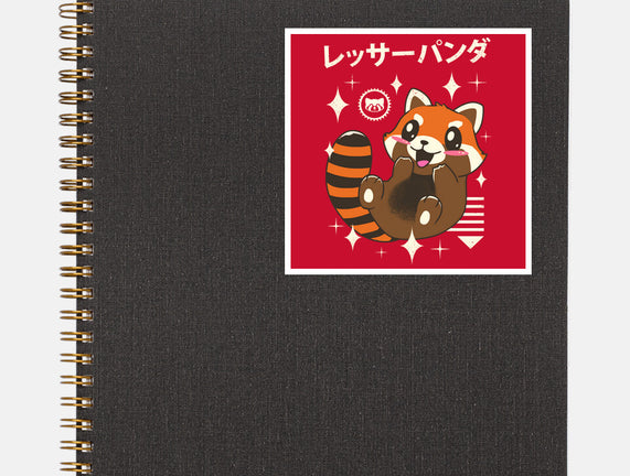Kawaii Red Panda