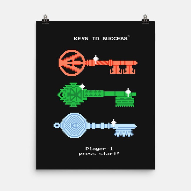 Keys to Success-none matte poster-Gamma-Ray