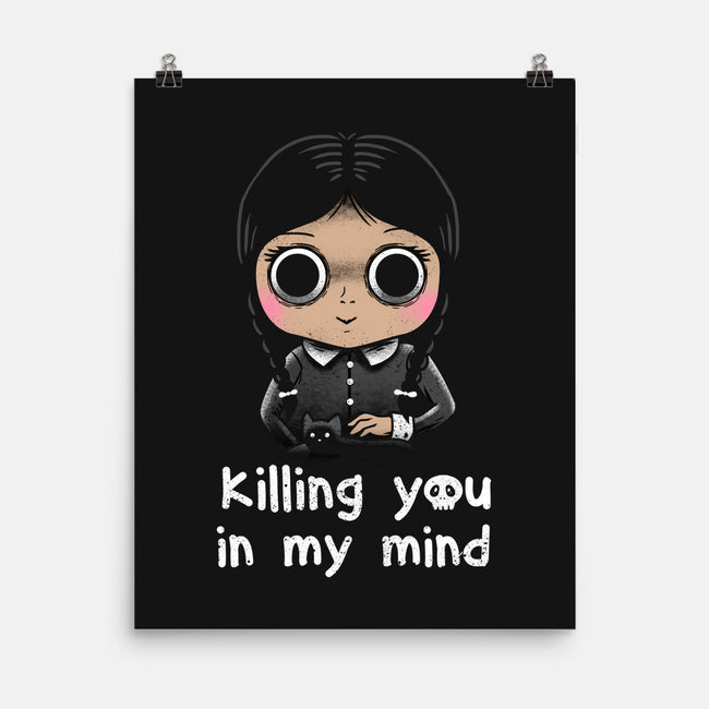 Killing in Mind-none matte poster-vp021
