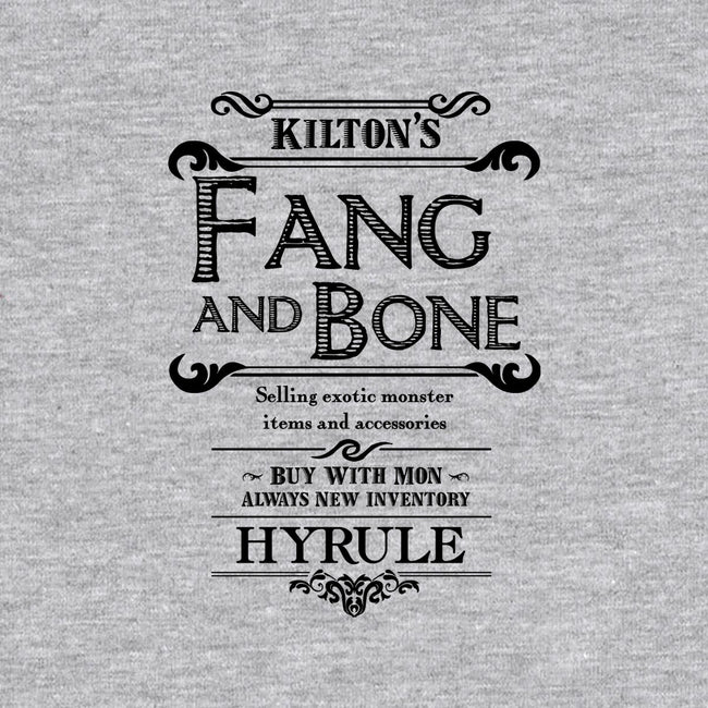 Kilton's Fang and Bone-none stretched canvas-mattographer