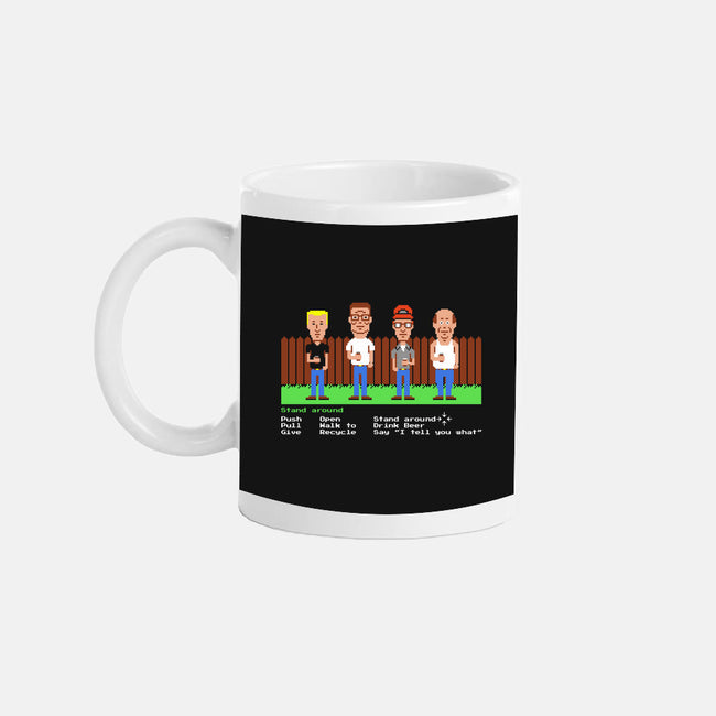 King of the Mansion-none glossy mug-RyanAstle