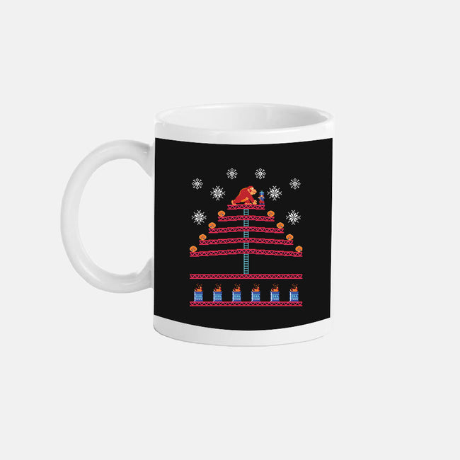 Kongmas Tree-none glossy mug-Retro Review