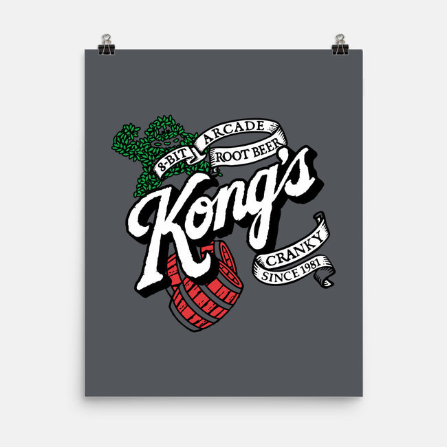 Kong's Root Beer-none matte poster-Stank