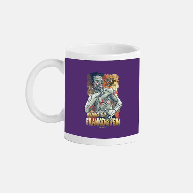Kung Fu Frank-none glossy mug-cs3ink