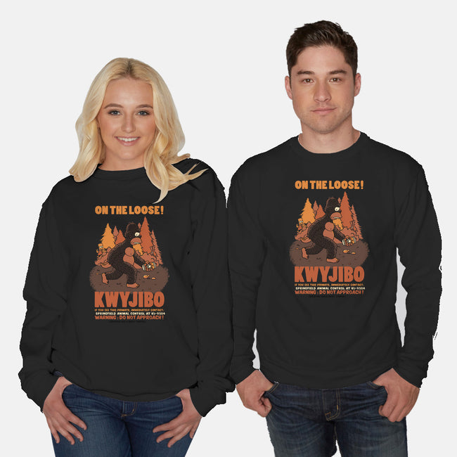 KWYJIBO-unisex crew neck sweatshirt-Made With Awesome