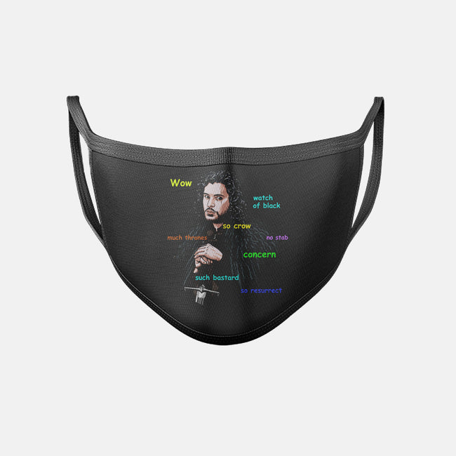 Jon Snoge-unisex basic face mask-dandstrbo