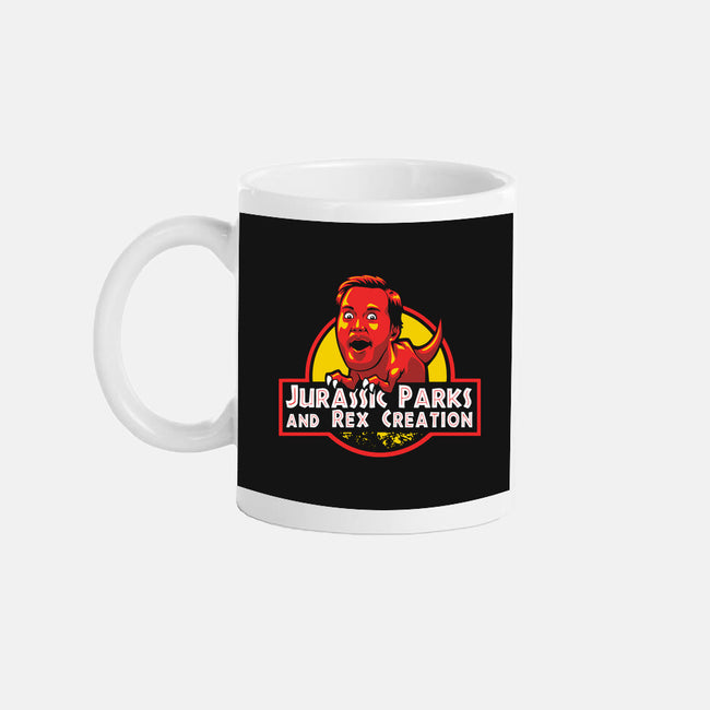 Jurassic Parks and Rex Creation-none glossy mug-Tabners