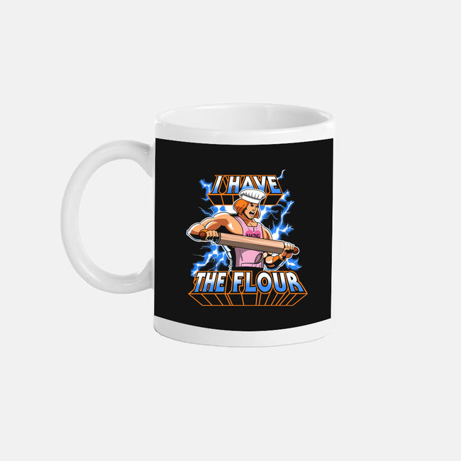 I have the flour!-none glossy mug-KindaCreative