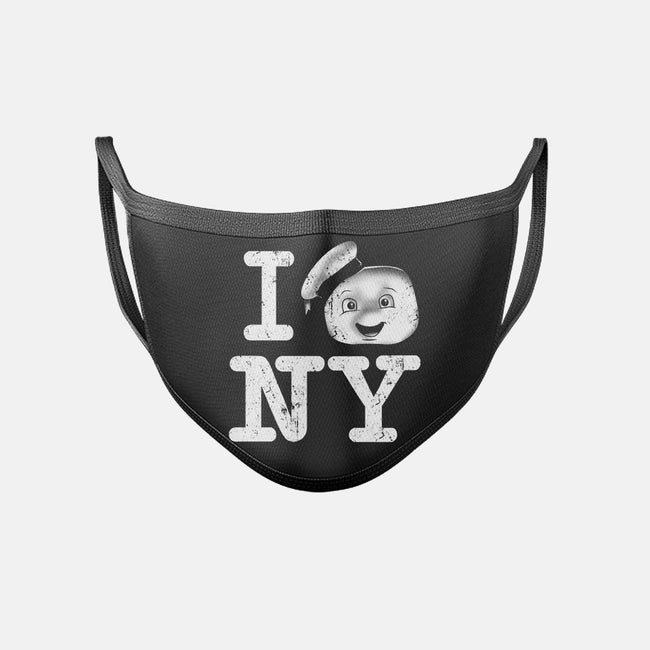 I Love This Town-unisex basic face mask-InkOne