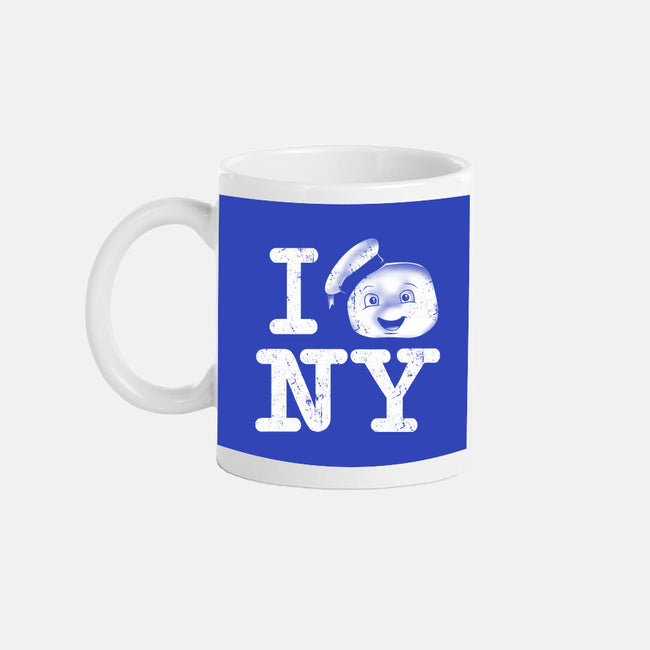 I Love This Town-none glossy mug-InkOne