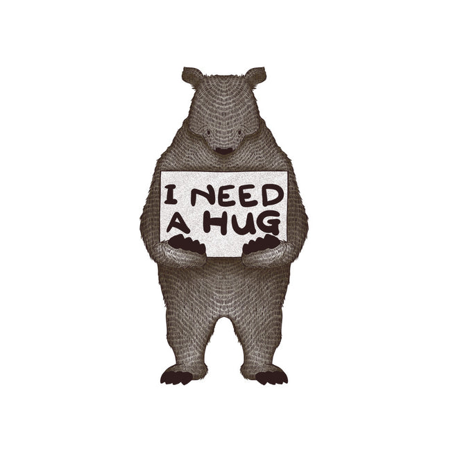 I Need A Hug-none stretched canvas-tobefonseca