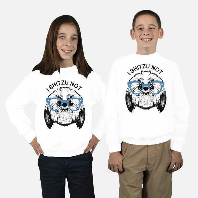 I Shitzu Not-youth crew neck sweatshirt-Mikey Mumble