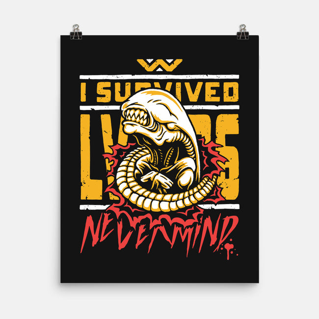 I Survived LV-426-none matte poster-BWdesigns