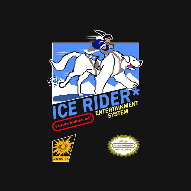 Ice Rider-none stretched canvas-SarahCave