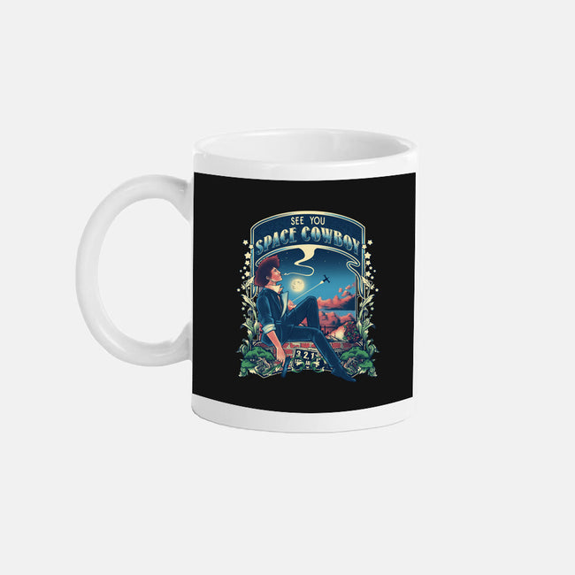 I'm Watching a Dream-none glossy mug-Creative Outpouring