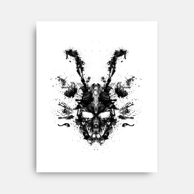 Imaginary Inkblot-none stretched canvas-spacemonkeydr
