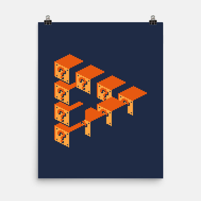 Impossible Blocks-none matte poster-mauru