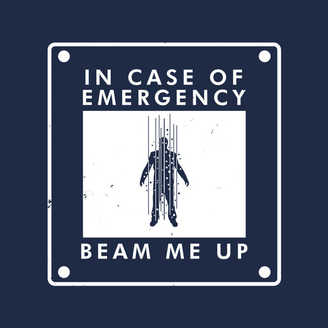 In Case of Emergency-none stretched canvas-Boggs Nicolas