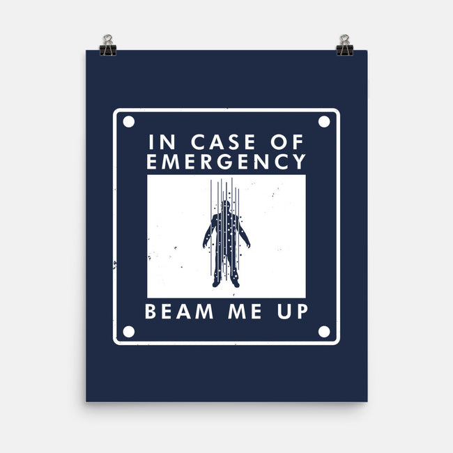 In Case of Emergency-none matte poster-Boggs Nicolas