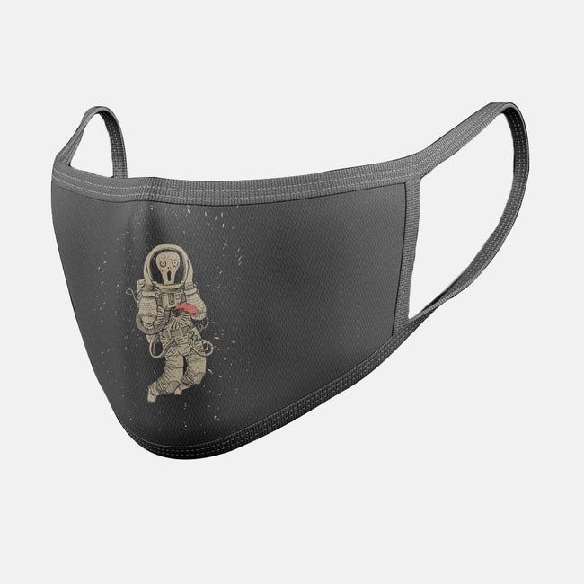 In Space, No One Can Hear You Scream-unisex basic face mask-spike00