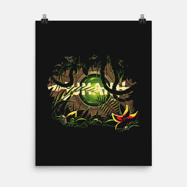 In the Jungle You Must Wait-none matte poster-Kat_Haynes