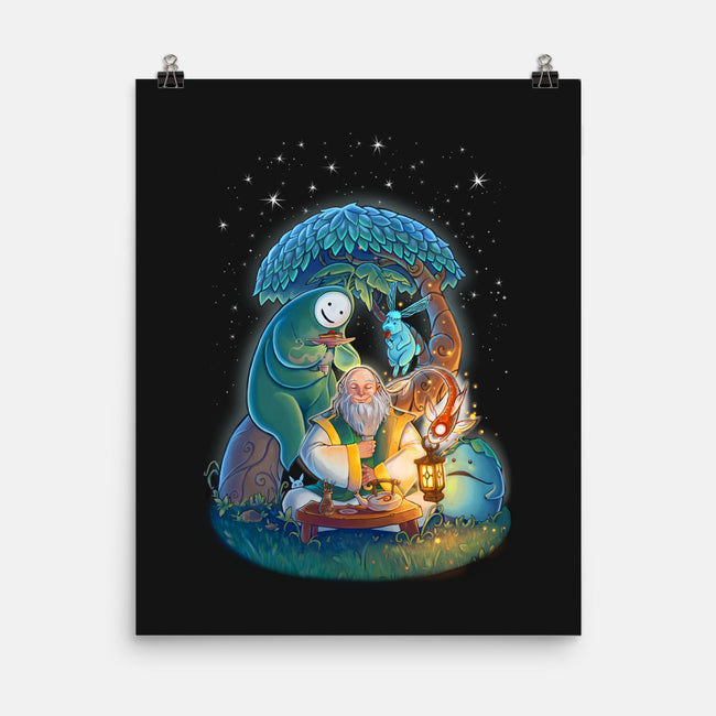 In The Spirit World-none matte poster-KatLowryArt