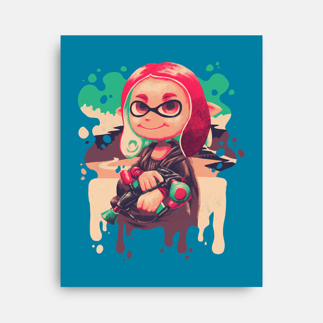 Inkling Lisa-none stretched canvas-Geekydog