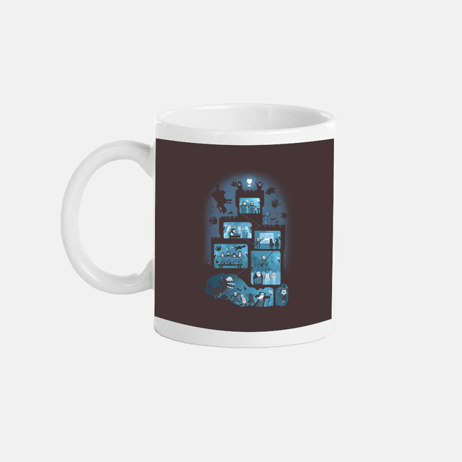 It is a Silly Place-none glossy mug-queenmob