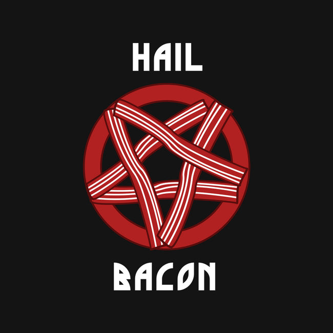 Hail Bacon-none matte poster-dumbshirts