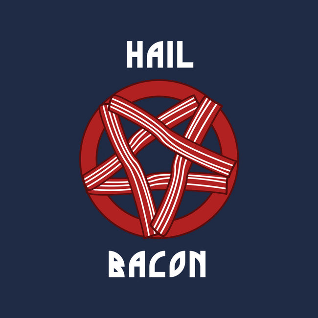 Hail Bacon-none stretched canvas-dumbshirts