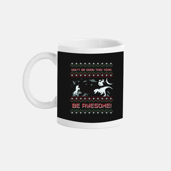 HAVE AN EPIC LITTLE XMAS!!-none glossy mug-beanepods