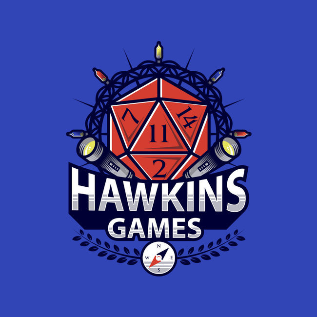 Hawkins Games-none stretched canvas-Alundrart