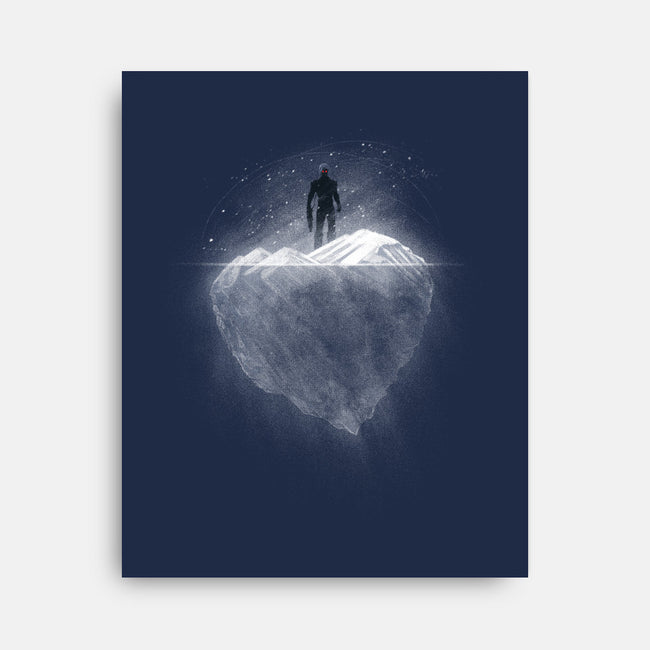 Heart Of Ice-none stretched canvas-markomanev