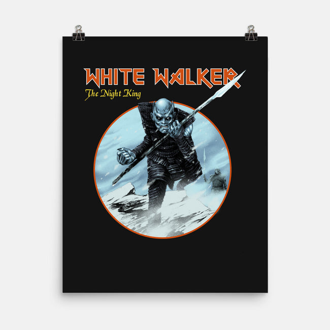 Heavy Ice-none matte poster-Mathiole