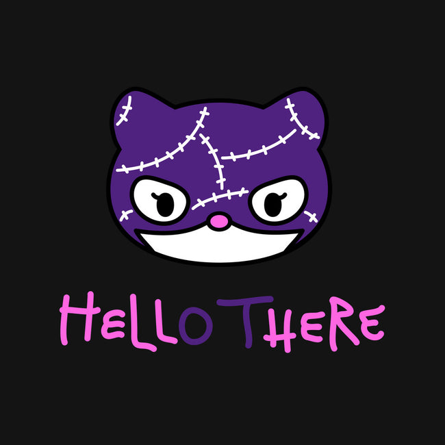 Hell Here Kitty-unisex basic face mask-Murphypop