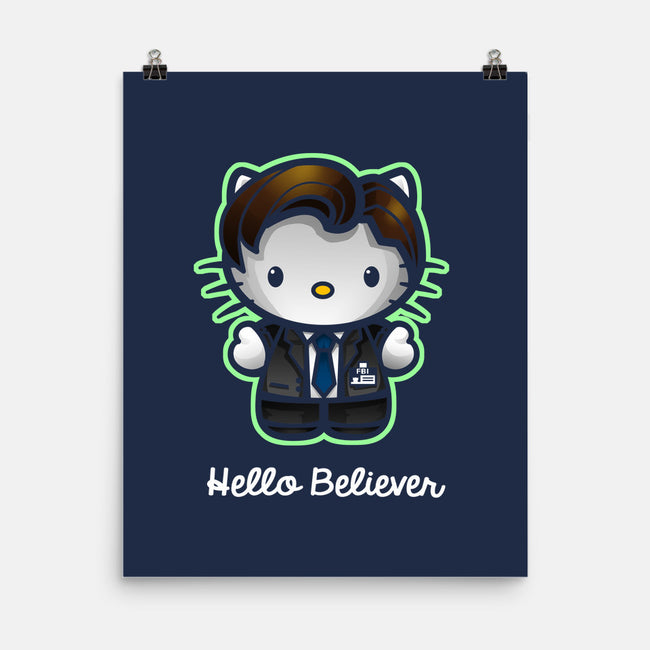 Hello Believer-none matte poster-Chriswithata