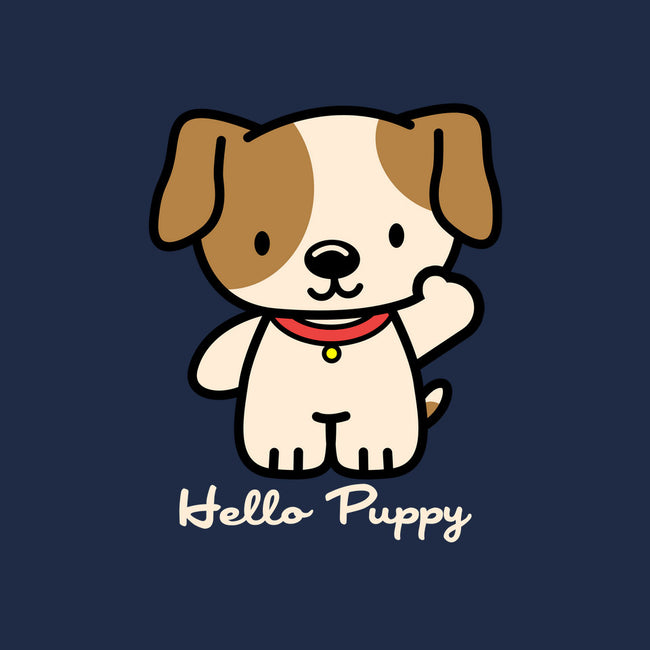 Hello Puppy-none glossy mug-troeks