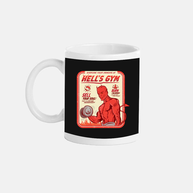 Hell's Gym-none glossy mug-hbdesign