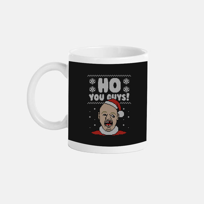 HO You Guys!-none glossy mug-Raffiti