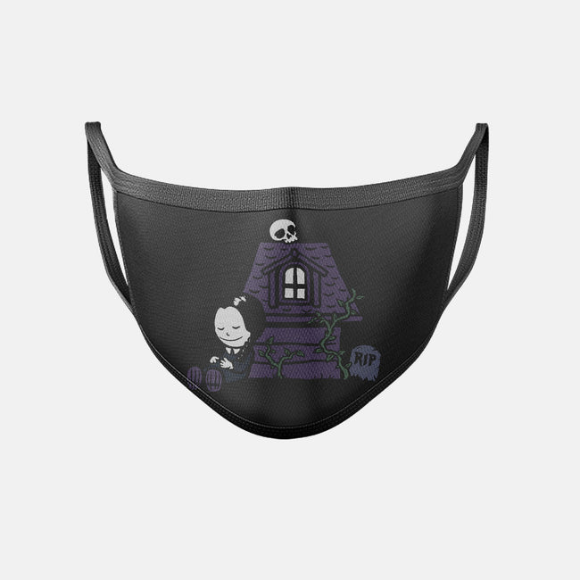 Homicidal Dreams-unisex basic face mask-Crumblin' Cookie