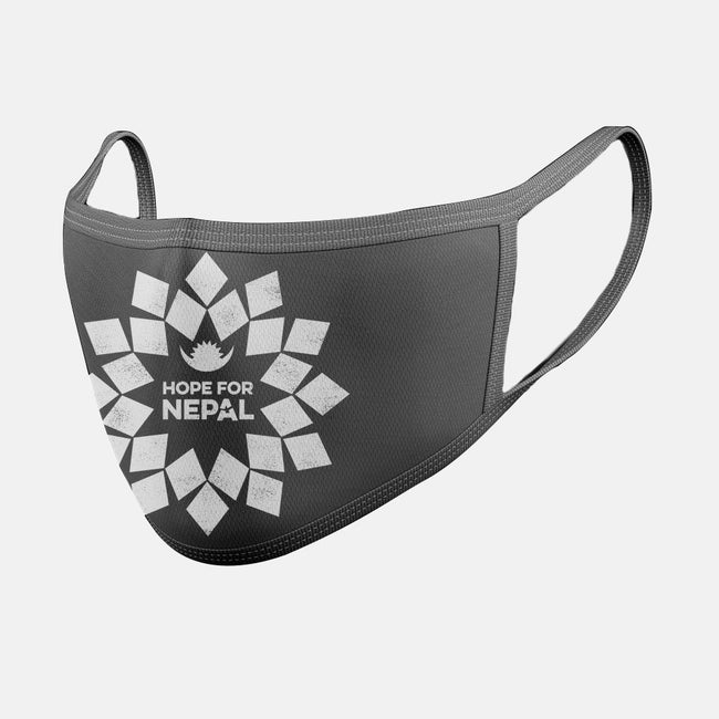 Hope For Nepal-unisex basic face mask-zerobriant