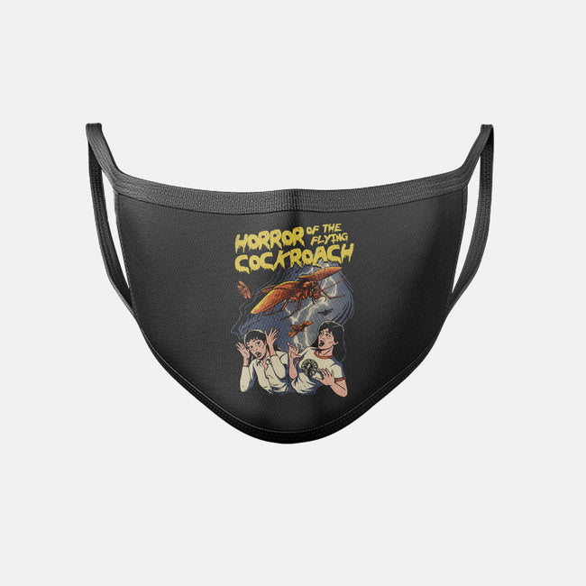 Horror of the Flying Cockroach-unisex basic face mask-vp021
