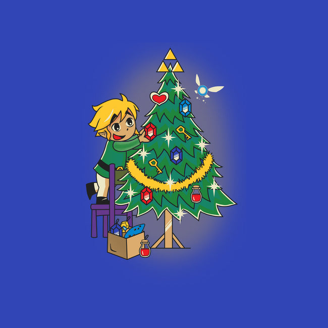 Hyrule Christmas Tree-none stretched canvas-matpynte
