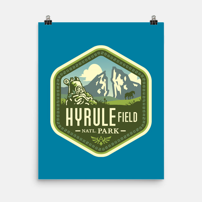 Hyrule Field National Park-none matte poster-chocopants