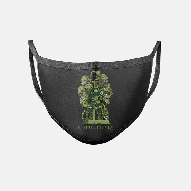Game of Masks-unisex basic face mask-FernandoSala