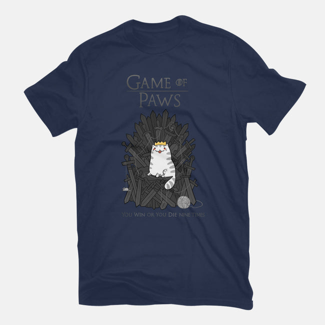 Game of Paws-mens heavyweight tee-queenmob